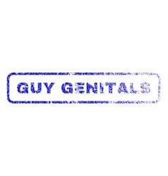 guy genitals rubber stamp vector image vector image