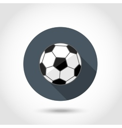 Soccer ball icon vector image vector image