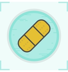 Band aid icon vector
