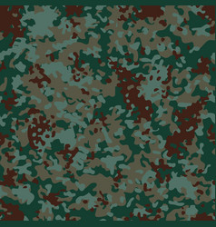 Euro flectarn camouflage seamless patterns vector