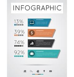 Modern infographics vector