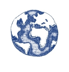 Worldhand drawn - vector image