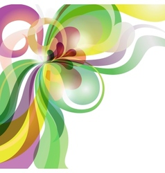 Abstract love theme colourful festive background vector