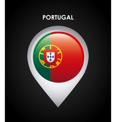 Portugal flag vector