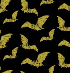 Bat pattern vector