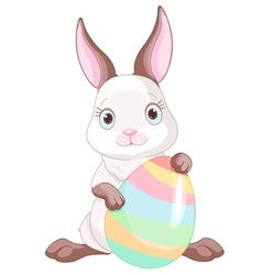 Easter Bunny vector image