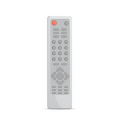 Electronic remote control icon vector