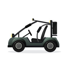 Off road buggy car design element vector