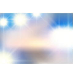 Abstract background of white light beaming vector