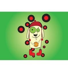 cute cartoon character vector image