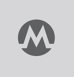 metro icon vector image