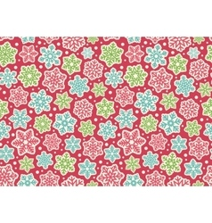 Bright fun seamless christmas winter pattern with vector