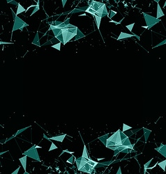 Abstract digital background with cybernetic vector