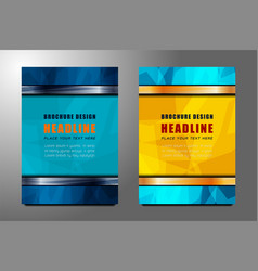 Business flyer template design vector