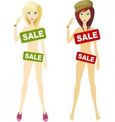 on sale design vector image