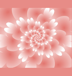 Abstract floral spiral background wallpaper vector