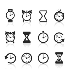 Hours an icon2 vector