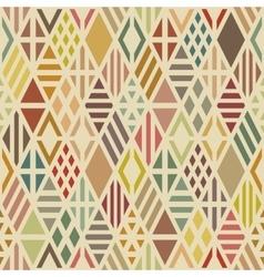 Multicolored geometric pattern vector
