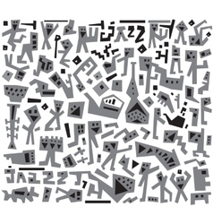 Jazz doodles vector