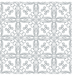 lines seamless pattern vector image vector image
