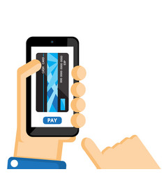 Mobile payment vector