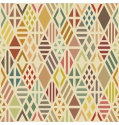 Multicolored geometric pattern vector image vector image