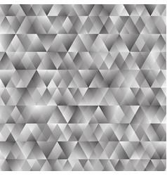 polygonal triangular shining background vector image vector image