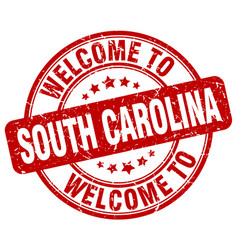 Welcome to south carolina vector