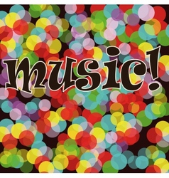 Musical bright background A vector image