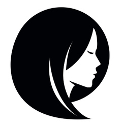 beauty salon logo design template Spa or vector image