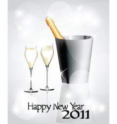 new year 2011 vector image vector image