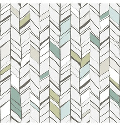 Sketchy herringbone seamless pattern vector