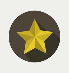 star shape design vector image