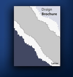 Brochure booklet cover design templates collection vector