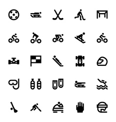 Sports and games icons 9 vector