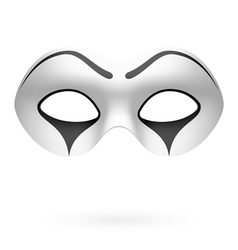 Clown mime mask vector image