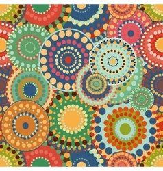 Seamless pattern spring baby with bright colorful vector image