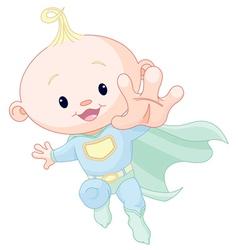 Super baby boy vector image vector image