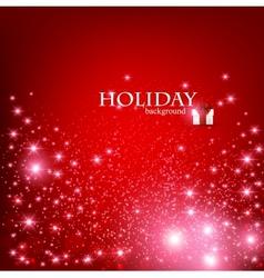 Christmas holidays background vector image