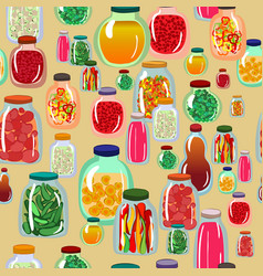 pickles seamless pattern vector image