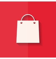 Shopping basket icon flat design vector
