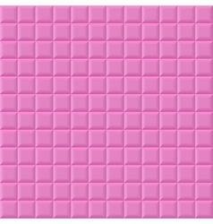 Pink volume squares vector image