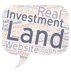How to make money with a simple website about land vector