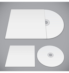 Compact disk template vector