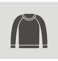 Jumper for men icon on background vector image