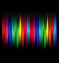 rainbow abstract vector image vector image