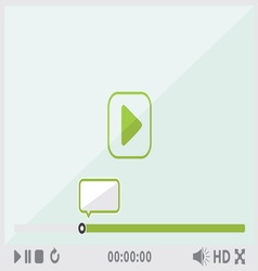 Video player2 resize vector image
