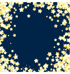 Blue festive background with stars vector