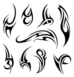 Tribal art vector