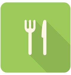 Fork knife icon vector